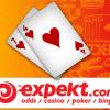 Expekt.com Shuffles Corporate Deck