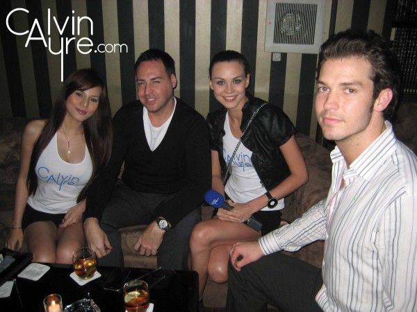 Ayre Head models and iGaming boys at AiG Manila Members Only Party