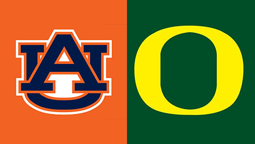 Auburn and Oregon will play for the crystal football