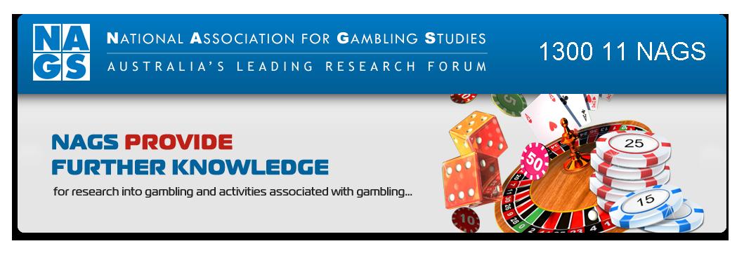 Journal of the national association for gambling studies (australia)