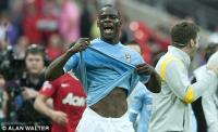 Man City forward Mario Balotelli