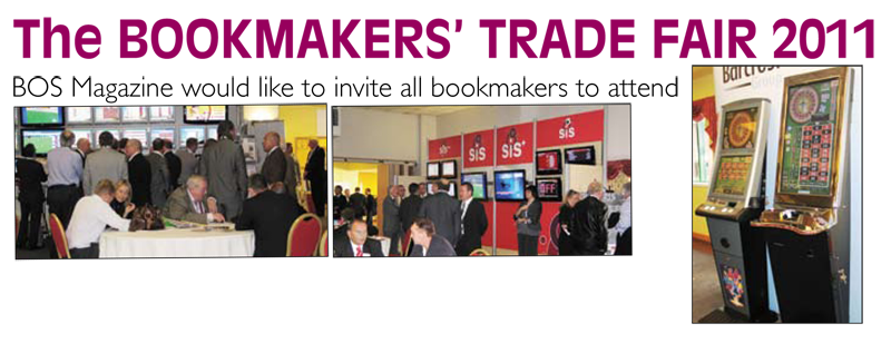 The BOOKMAKERS' TRADE FAIR 2011