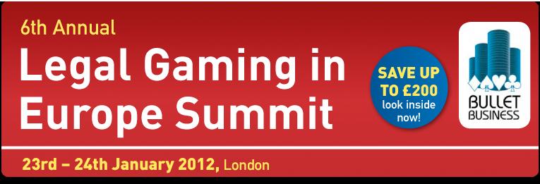 Legal Gaming in Europe Summit 2012