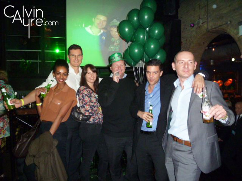 iGaming Super Show St. Paddy's Day Party 2012 - DAF Team Paypoint.net