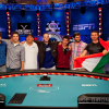WSOP October Nine set and dominated by US players