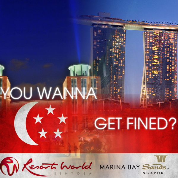 Casino advertising regulations singapore