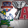 Alabama favored over Notre Dame to win BCS Championship Game