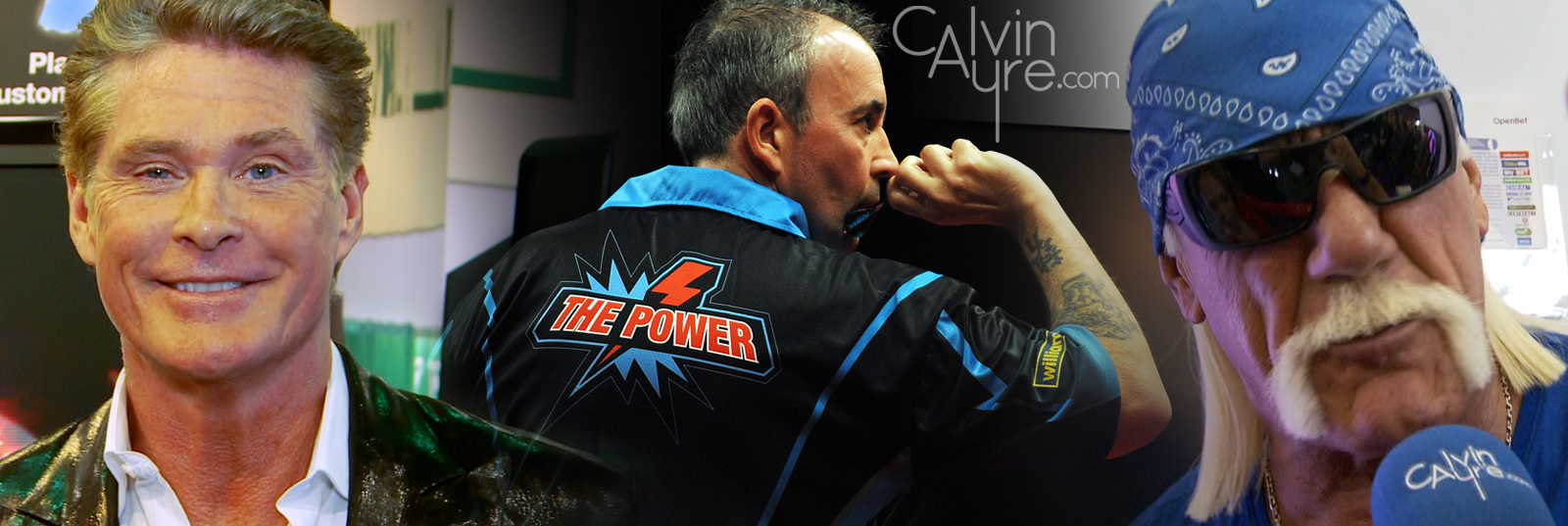 OpenBet slots and celebrity endorsements at 2012 ICE & G2E: Phil Taylor, Hulk Hogan and The Hoff