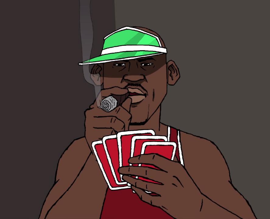 Jordan poker
