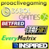 DEALS: EveryMatrix, BetSoft, Games OS, Proactive Gaming, Inspired Gaming