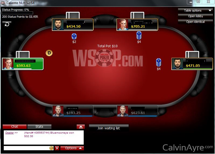Can you win money online poker