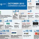 CalvinAyre.com Featured Conferences & Events: October 2013