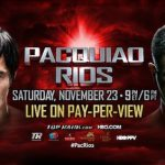 Manny Pacquiao favored over Brandon Rios in Cotai Clash