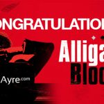Congratulations to the Alligator Blood Book Giveaway