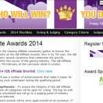 CalvinAyre.com has signed up as a media partner for the iGB Affiliate Awards 2014