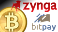 Zynga test Bitcoin payment option; BetCoin to support more virtual currencies
