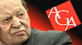Adelson says Las Vegas Sands may quit AGA over online gambling support