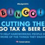 'Beer and Bingo' Row Breaks Out of 2014 UK Budget