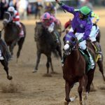 California Chrome's Triple Crown bid falls short, Tonalist wins at 12/1 odds
