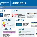 CalvinAyre.com featured Gambling Conference and Events: June 2014