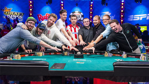 2014 world series of poker sets final table of world for 07 08 championship table