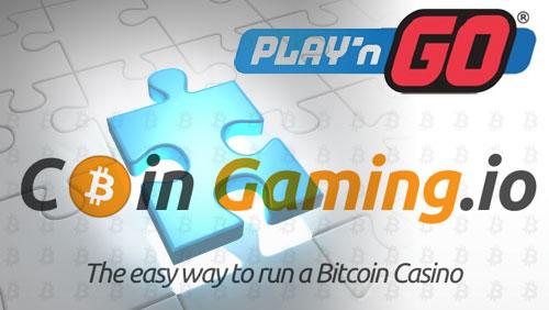 Bitcoin Gaming Platform Provider Integrates Play'n GO Casino Games