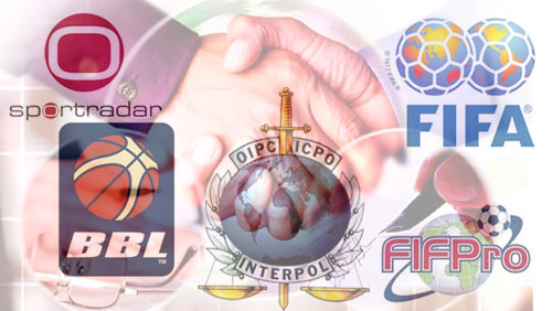 FIFA, FIFPro partner with Interpol to fight match fixing; Sportradar strikes deal with British Basketball League