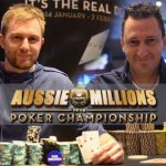 Aussie Millions Update: Spadavecchia and Rudd Take Events # 1& 2