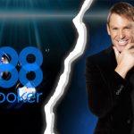 Shane Warne Leaves 888Poker