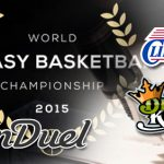 FanDuel announces 2015 Fantasy Basketball Championship; DraftKings signs with LA Clippers