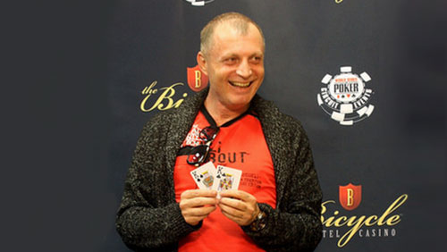 Gevork Kasabyan Wins the WSOPC Main Event at the Bike