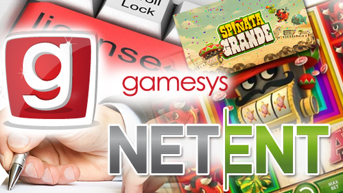NetEnt signs license agreement with Gamesys, releases new slots