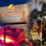 Wild brawl erupts at Resorts World New York