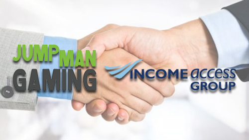 Jumpman Gaming Partners with Income Access