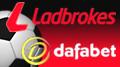 Ladbrokes is Scottish football's new title sponsor; Dafabet sign Blackburn Rovers