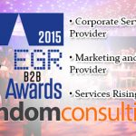 Random Consulting is shortlisted for Three Awards at the EGR B2B Awards