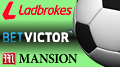 Mansion, BetVictor and Ladbrokes boost football sponsorship presence