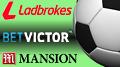 Mansion, BetVictor and Ladbrokes boost football sponsorship presence