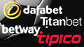 Dafabet, Tipico ink football sponsorships; Titanbet sponsor CPL coverage