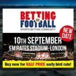 Betting on Football moves to Thursday 10th September