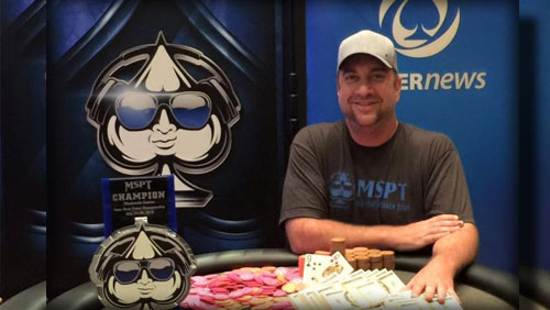 Blake Bohn Wins the MSPT Meskwaki Main Event