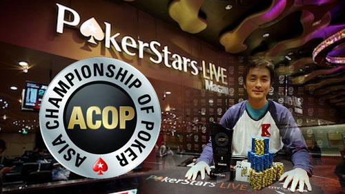 Tokuho Yoshinaga Wins the ACOP Platinum Series X Main Event