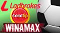 Winamax, Synot Tip, Ladbrokes ink footie deals; Svenska Spel ditch hockey deal