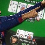 Neymar wins $20K with rare poker hand