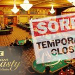 Tinian Dynasty closes temporarily