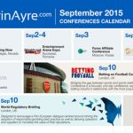 CalvinAyre.com Featured Conferences & Events: September 2015