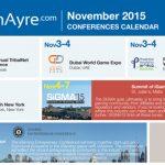 CalvinAyre.com Featured Conferences & Events: November 2015