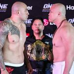 """Brandon """"the Truth"""" Vera and Paul """"typhoon"""" Cheng Made Weight Ahead of One Heavyweight World Championship Bout"""