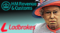 UK taxman rejects Ladbrokes' bid to claim £54m in phantom losses