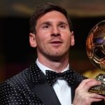 Lionel Messi Wins The FIFA Ballon d'Or For a Record Fifth Time